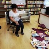Berušky na návštěvě v knihovně