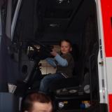 Děti u hasičů 2009
